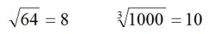 SBAC radical equations answer 1