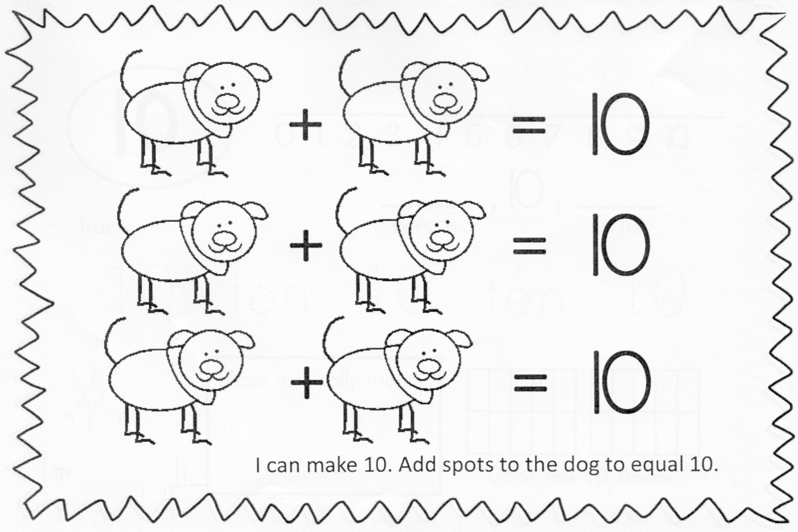math worksheet : de posing numbers less than or equal to 10  open middle : Decomposing Numbers Kindergarten Worksheets
