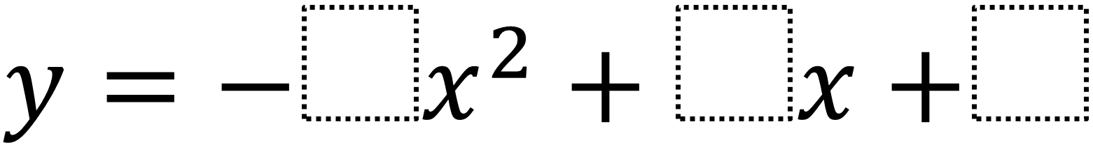 Maximum Value Of A Quadratic In Standard Form Open Middle