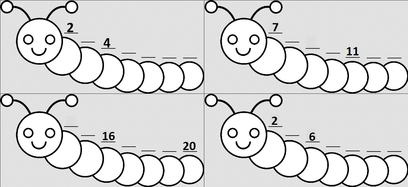Caterpillar Counting | Open Middle
