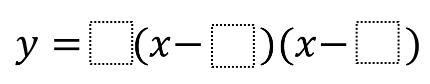 Minimum Value of a Quadratic in Factored Form | Open Middle