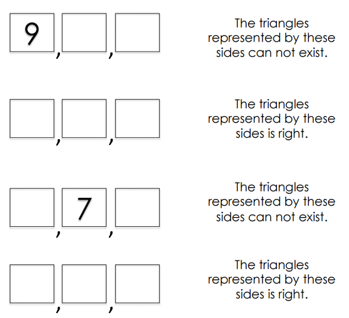 The Triangle Inequality – Triangle Inequalities Worksheet